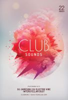 Club Sounds Flyer by styleWish