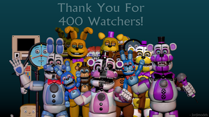 Thank You For 400 Watchers! by jorjimodels