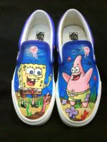 Sponge Bob  and Patrick by VICTOR5
