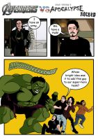 The Avengers vs Apocalypse Rocked by deanfenechanimations