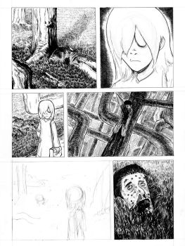 Incomplete Comic page by copyrezo