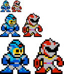 MM10 Mega Man and Proto Man by Zero-Janitor