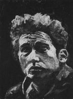 A Young Bob Dylan by JackRaz