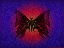 Colorful Butterfly by Juhani
