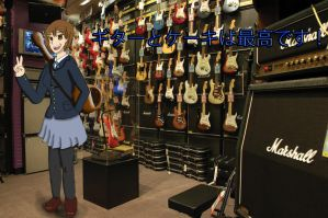 Yui Hirasawa! (Request) Guitar And Cakey Rule! by RunnerGuitar