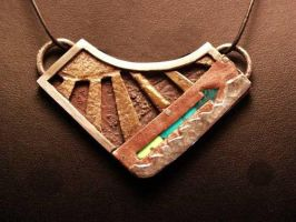 Stairway to Heaven Necklace by CosmicFolklore