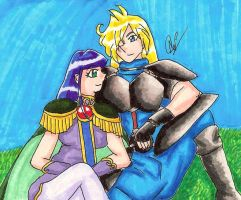 Gourry Sylphiel Relaxing by GourrySylphiel