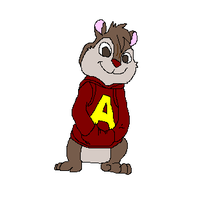 Alvin Spinning by TheCrapRightArt