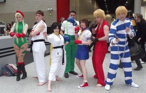 Street Fighter Group ~ MCM October 2012 by Takoto