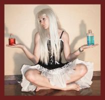 Alice with potions 1 by Lisajen-stock