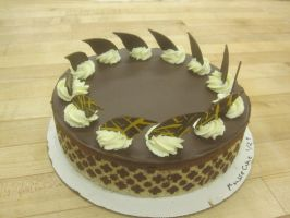 Joconde Mousse Cake by recycledrapunzel