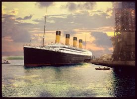 Peaceful Evening by RMS-OLYMPIC