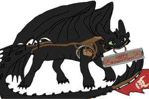 Toothless - Day of Dragons by Golloperaa