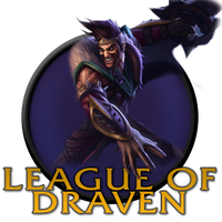 League Of Draven/Legends Icon PNG by AngryBlueJay
