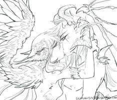 Forbidden Love Color me by ChimuruArt