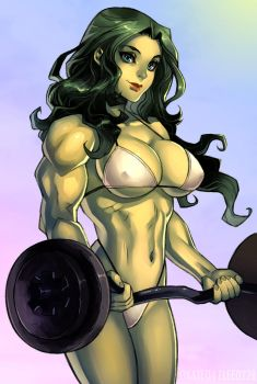 She Hulk by elee0228