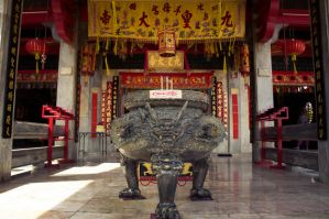 Chinese temple by lecristoph