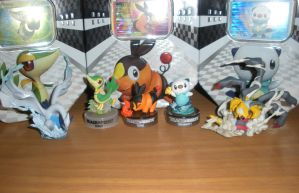 All My Poke'mon Figures by roxas431