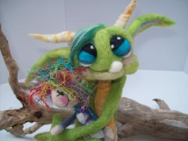 Baby Goblin Doll by Tanglewood-Thicket