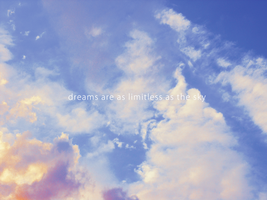 dreams and the sky by Diellza
