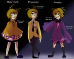 Plushtrap's Outfits  by Nomidot
