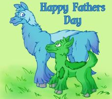 Happy Fathers Day by JellySoupStudios