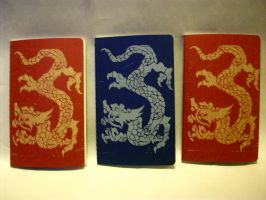 Dragon Printed Journals by CadmiumCrab