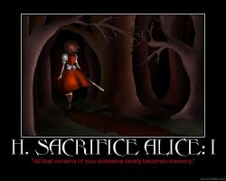 Human Sacrifice Alice I by HC-IIIX