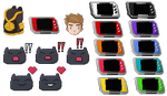 Icons and Digivice Colours by VAFIS