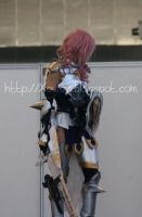 Warrior Goddess - Lightning Cosplay by Xeylen