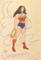 Homemade Wonder Woman Mother's Day card (Inside) by RayRay1127