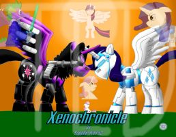 Xenochronicle Cover Art by Ponyknight