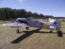 Replica FW190 fighter by RedtailFox