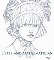 BOW H7 Sister and mathematician (study) by StefanoLanza