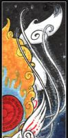Shiranui Bookmark by benwhoski