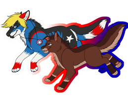 art trade with XanderGirl96 by Miss-Melis