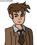 The Tenth Doctor for Sam by ChrissieGirl