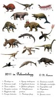 2011 in Paleontology by NTamura