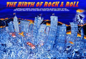 The Birth of Rock and Roll by PK4only