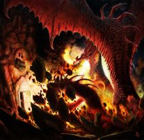 Smaug's Fury by LyntonLevengood