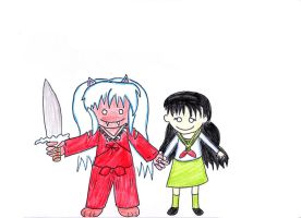Inuyasha and Kagome 2 by VioletAnne9