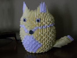 3D Origami Fox by Rescue-Is-Possible