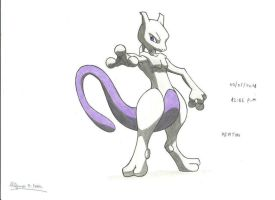 mewtwo by stefano-roca