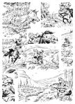 DRAGOS page 1 - inks by benitogallego