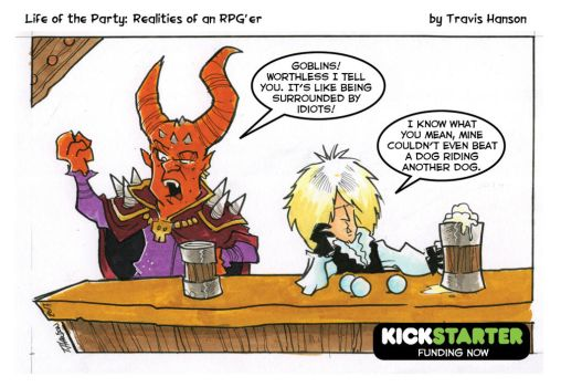 the goblin king - RPG Comic by travisJhanson