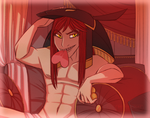 DEITIES -- Set's V-Day (and 'B-Day') Fanservice by TeniCola