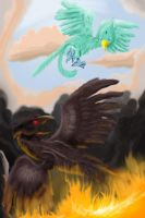 Pheonix vs Xinoeph by Bread-Crumbz