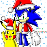 CE: .:A Pokemon and Sonic Christmas:. by PokeSonFanGirl
