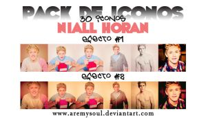 +Pack Icons Niall Horan by AreMySoul