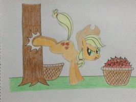 Just a normal day at Sweet Apple Acres by DON2602